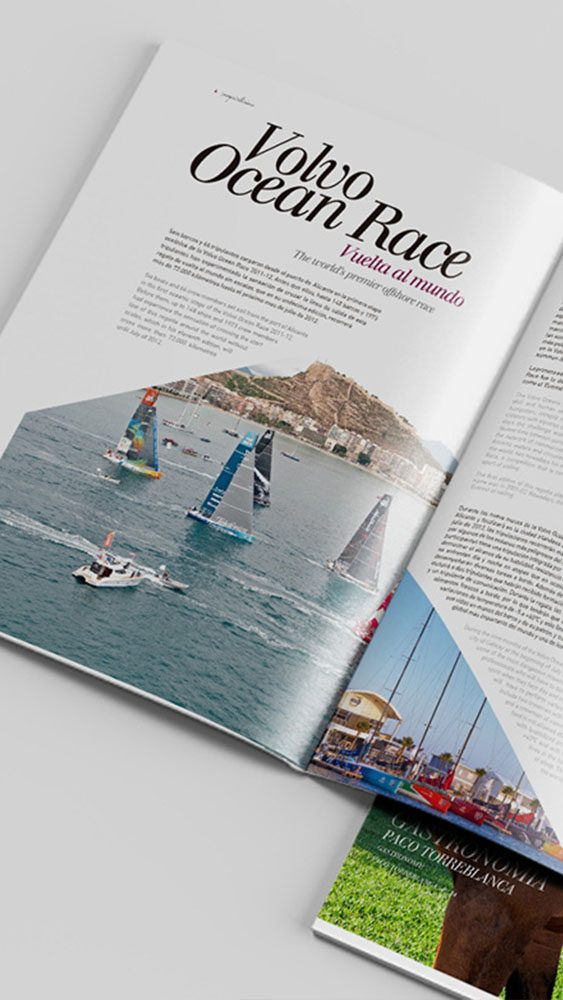 Volvo Ocean Race Revista Exquisitisimo